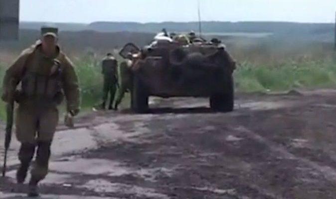 Украинские силовики захватили под Мариуполем 32 ополченца (видео)