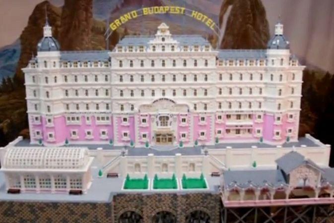 Мини-копию гранд-отеля «Будапешт» построили из Lego