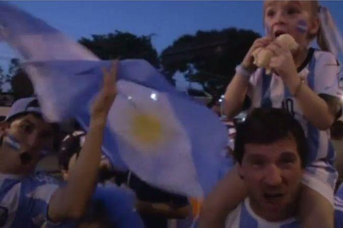 Сборная Аргентины одержала победу на первом матче в Рио-де-Жанейро