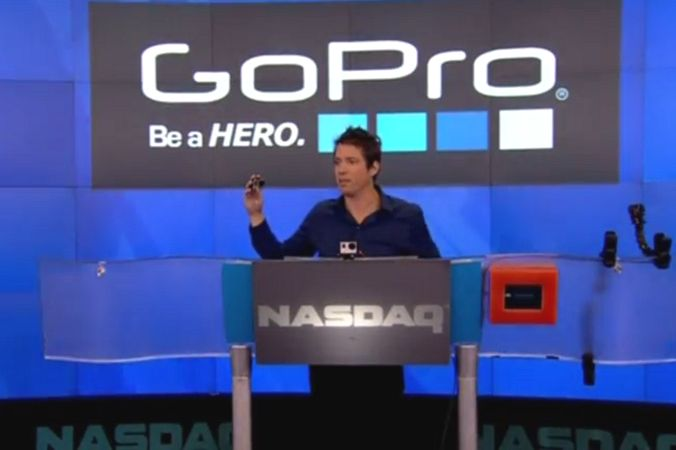 Производитель камер GoPro успешно дебютировал на нью-йоркской бирже