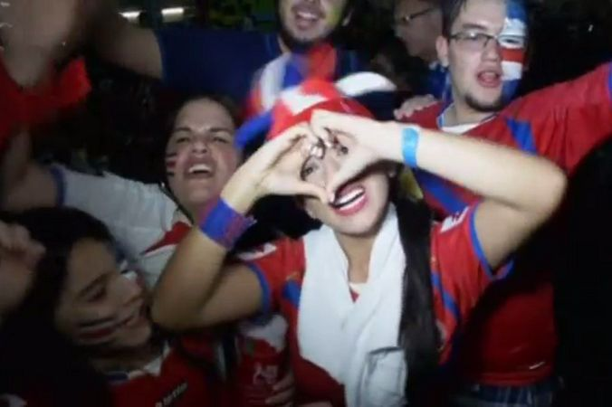 Коста-Рика впервые в истории вышла в четвертьфинал ЧМ по футболу