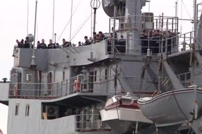400 российских моряков прибыли во Францию для обучения управлением «Мистралем»