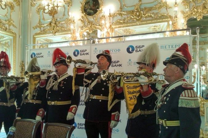 Бравые «Штутгартские трубачи». Фото: Татьяна Петрова/Великая Эпоха
