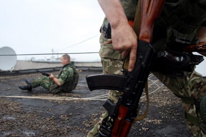 Украина, обстрел