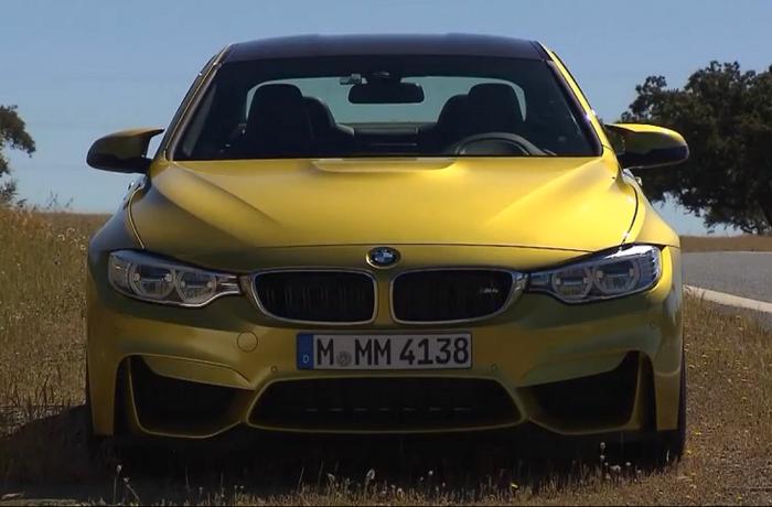 Новый BMW M4 Coupe имеет невероятный потенциал. Фото: скриншот/aol.com
