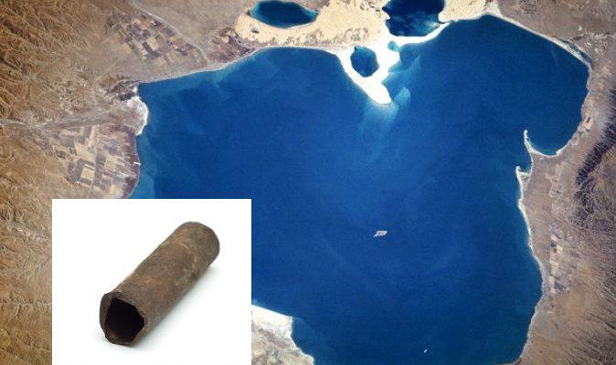 Неуместный артефакт: китайские учёные обнаружили железные трубы возрастом 150 000 лет