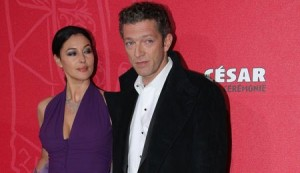 French actor Vincent Cassel and Italian