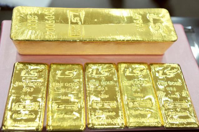 Теперь официально подтверждено, что в Китае золото часто используется для обеспечения кредитов. Фото: JUNG YEON-JE/AFP/Getty Images