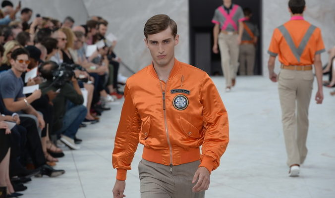Louis Vuitton провёл показ мужской моды 2015