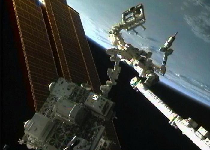 Международная космическая станция. Фото: NASA Goddard Space Flight Center/flickr.com
