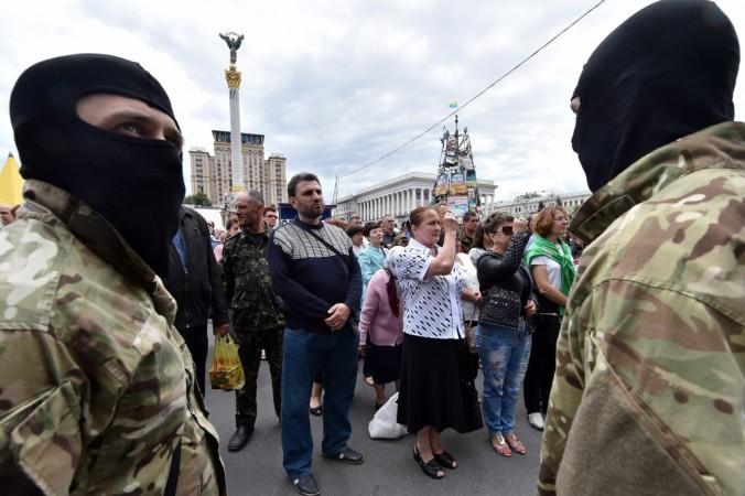 Украина, Майдан, вече