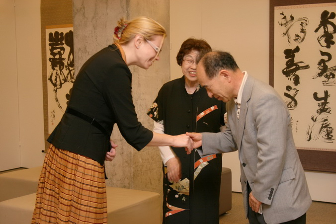 Rietumu, искусство японской каллиграфии