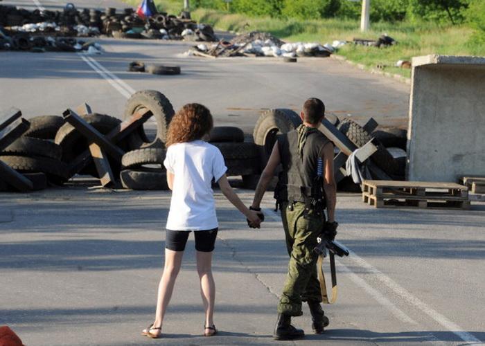 Славянск. Фото: VIKTOR DRACHEV/AFP/Getty Images