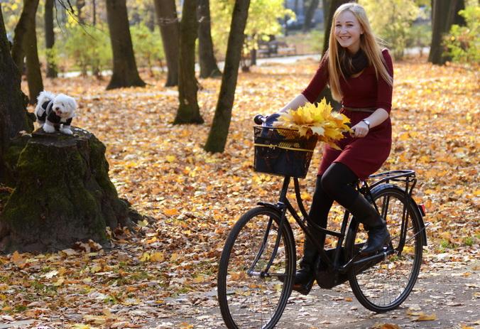мода для езды на велосипеде
