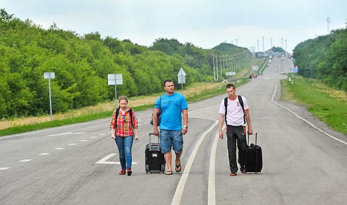 Беженцы с Украины ищут работу в столице