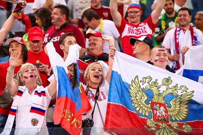 спорт, футбол, чемпионат в Бразилии, сборная России, болельщики, Бельгия