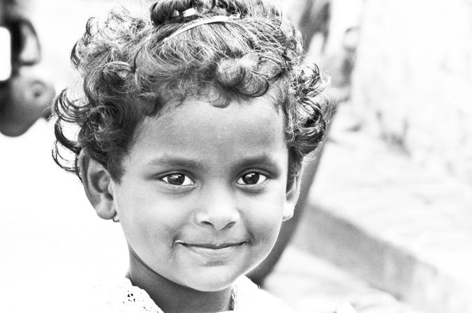 Портреты индийских детей в черно-белом цвете. Фото: Татьяна Виноградова/Великая Эпоха