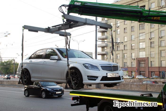 авто, Москва, эвакуация автомобилей