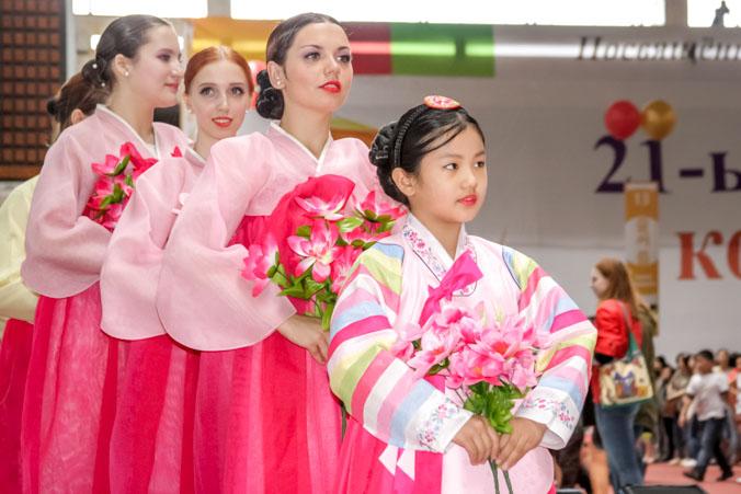 Фестиваль корейской культуры, посвящённый 150-летию проживания корейцев в России, прошел в День России в Москве.  Фото: Ульяна Ким/Великая Эпоха