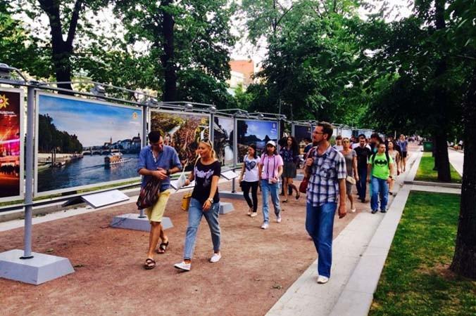 Москва, фотовыставка, Панорамы Швейцарии, Покорение Маттерхорна, отдых в Москве, квест