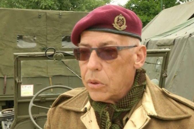 Реконструкторы разбили военный лагерь у города Анель на северо-западе Франции