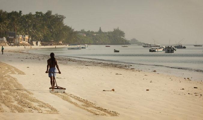 Прибрежные острова Кении могут оказаться под водой