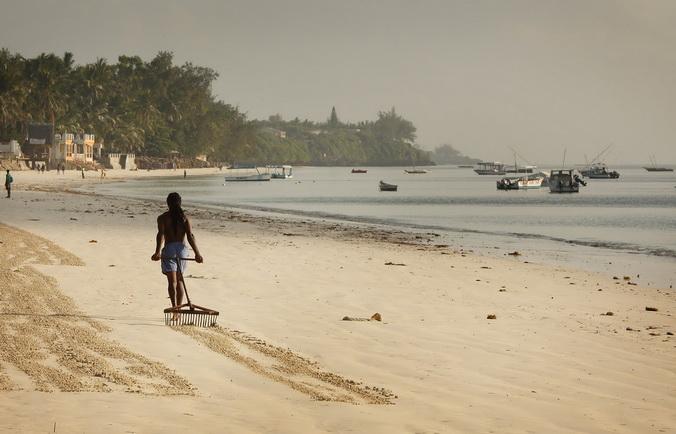 Кения, потепление климата, подъём уровня моря, затопление территорий