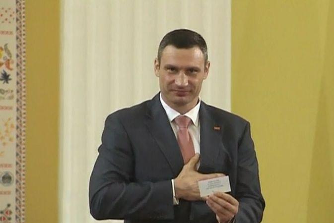 Виталий Кличко вступил в должность мэра Киева