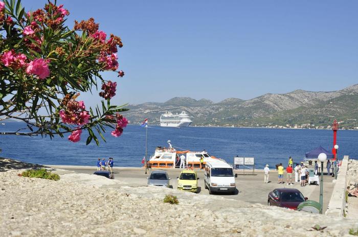 Корчула — райский остров в Хорватии