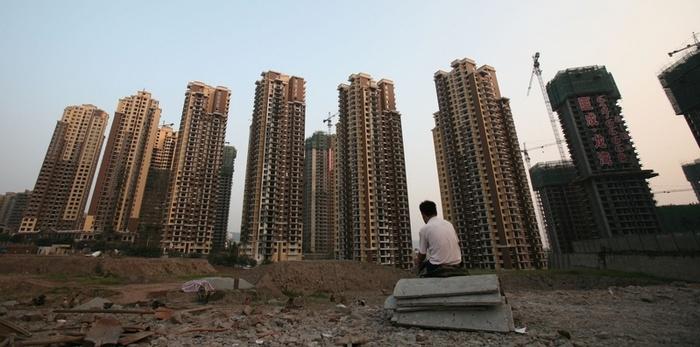 Рынок недвижимости в Китае испытывает тяжёлые времена. Фото: China Photos/Getty Images