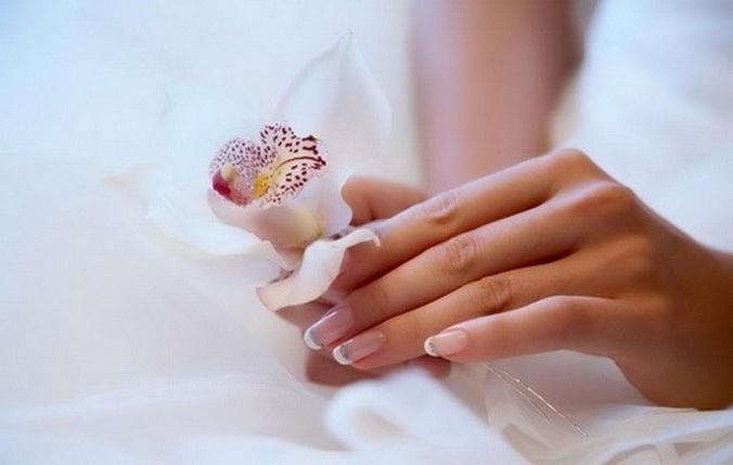 Ногти, свадебный маникюр, летний свадебный маникюр