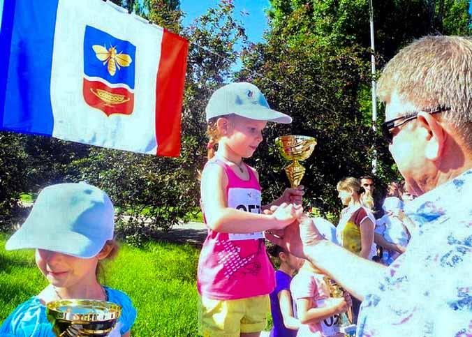 Международный Олимпийский день отметили в Симферополе. Фото: Алла Лавриненко//Великая Эпоха