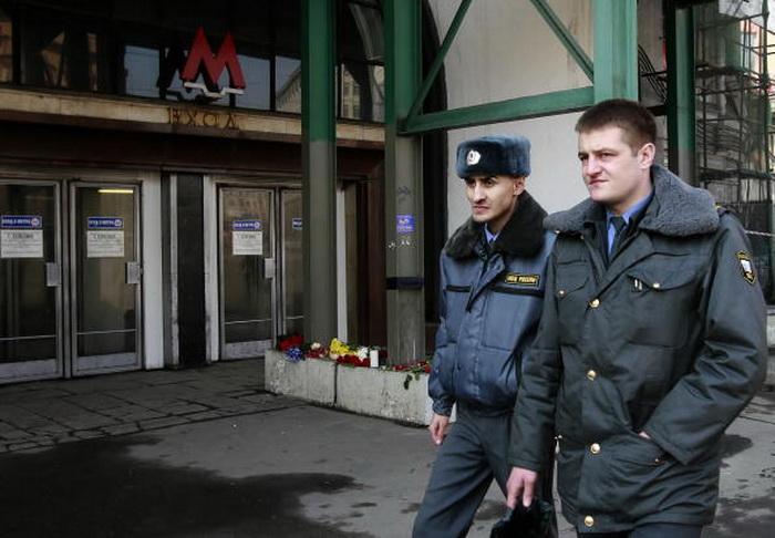 Российские полицейские. Фото: Dmitry Korotayev / Epsilon / Getty Images