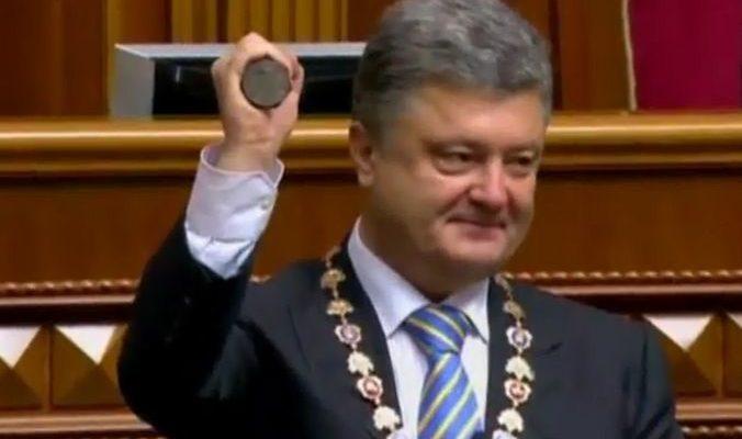 Жители Украины разделились во мнениях о новом президенте (видео)