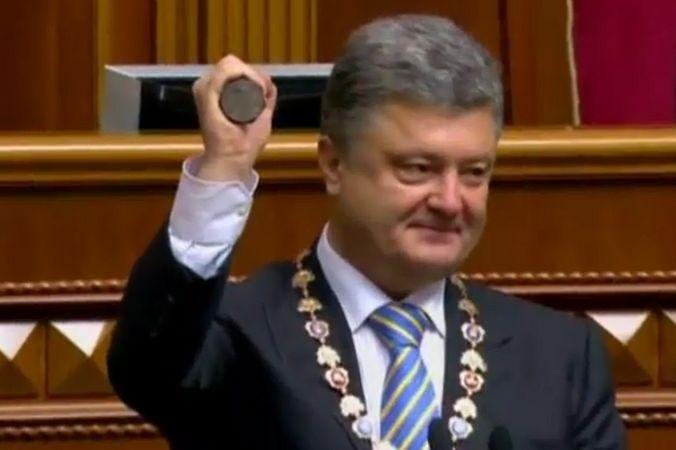Пётр Порошенко заявил, что не желает войны и пообещал сохранить единую страну