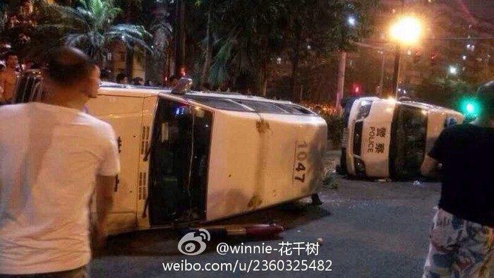 Десятки народных протестов прошли за несколько дней в Китае