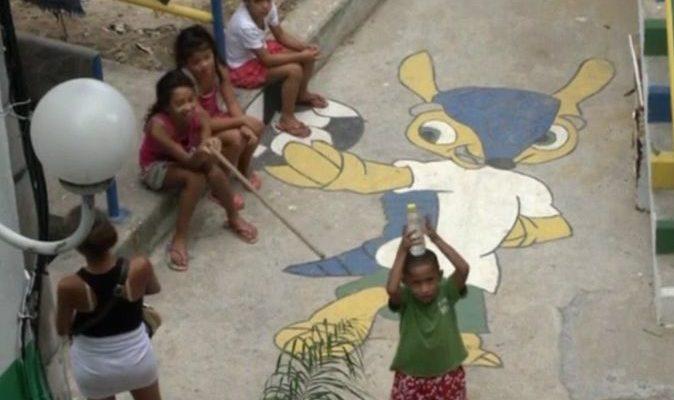 Беднейшие районы Рио-де-Жанейро преобразились перед чемпионатом мира (видео)