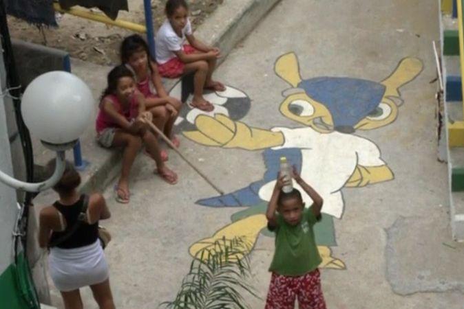 Беднейшие районы Рио-де-Жанейро преобразились перед чемпионатом мира