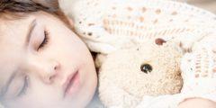 Акупрессура и здоровый детский сон