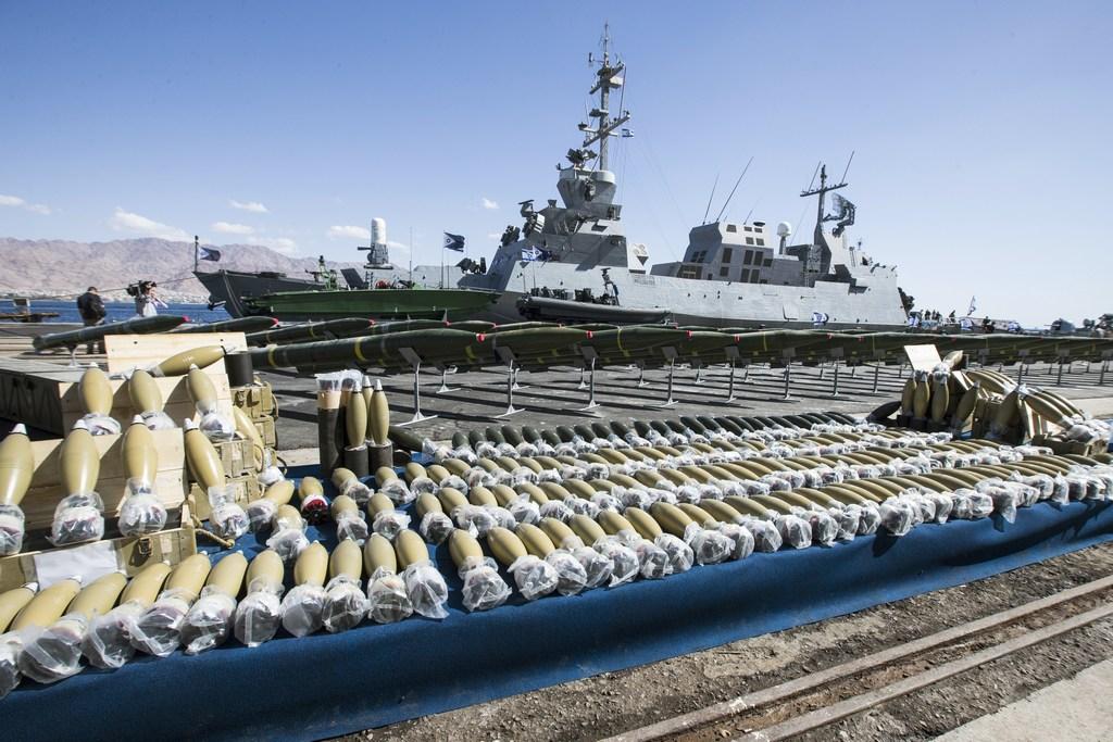 ООН, судно, оружие