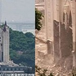 Церковь Саньцзян в провинции Чжэцзян была разрушена 28 апреля 2014 года. Фото: weibo.com