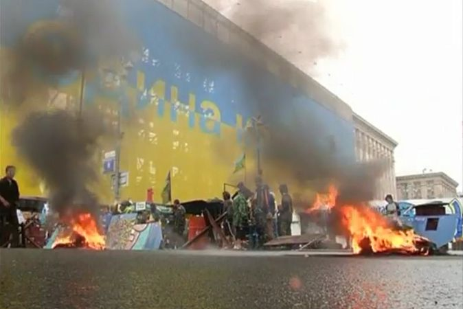 Кличко, мэр, Майдан, чистка, зачистка, милиционер, Беркут