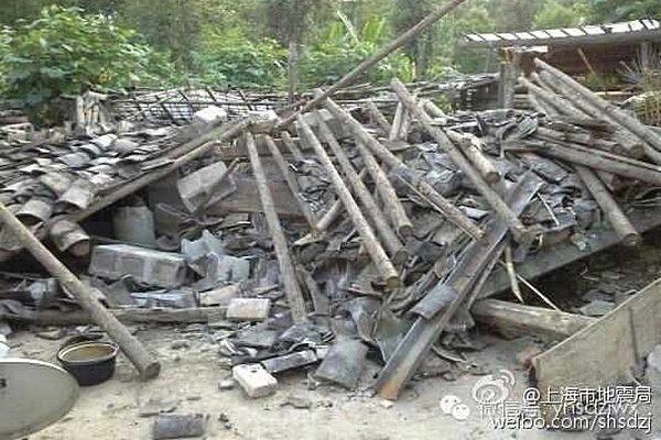 Два крупных землетрясения произошли на юге Китая