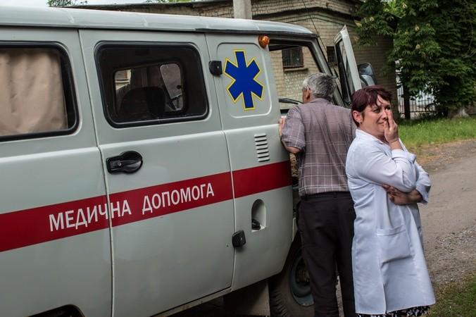 Украина, Минздрав, АТО