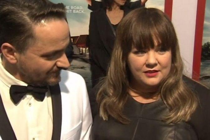 Мелисса Маккарти и Сьюзан Сарандон на премьере комедии «Тэмми»