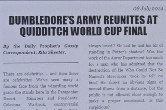Джоан Роулинг опубликовала новую историю про Гарри Поттера
