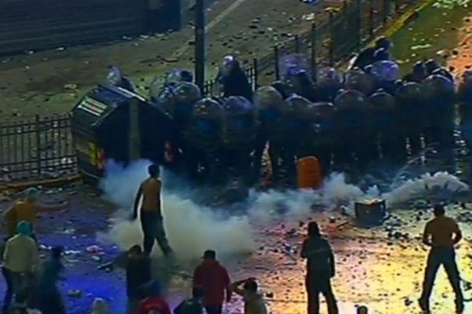 Разъярённые аргентинские фанаты устроили беспорядки в Буэнос-Айресе
