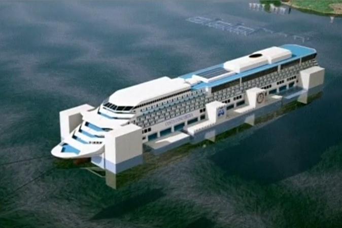 При подъёме Costa Concordia не будет утечки топлива, — эксперты