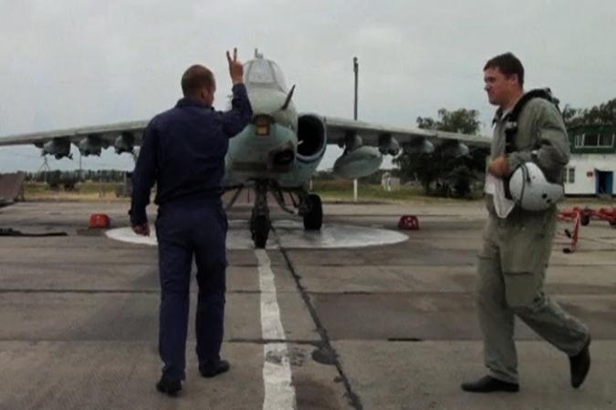 В Краснодарском крае проходят учения военной авиации