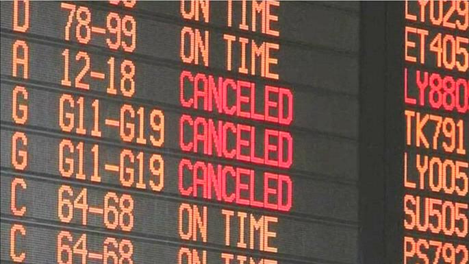 Американские и европейские авиакомпании отменили рейсы в Израиль